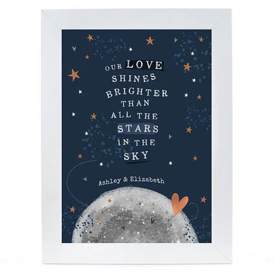Personalised Print - Stars In The Sky - £19.99!