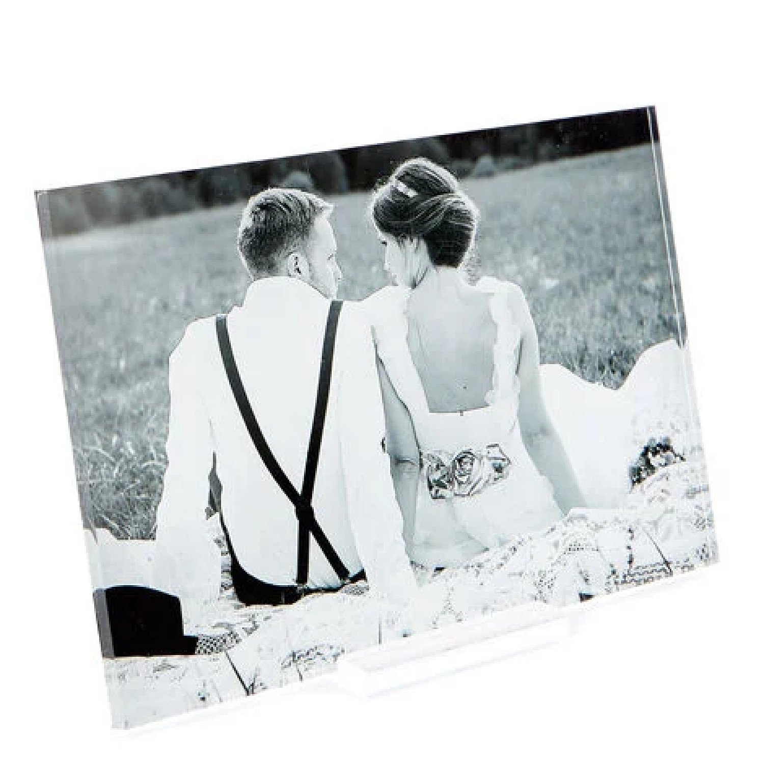 Personalised Acrylic Print - 6x4 Inches (Landscape) - £9.99!