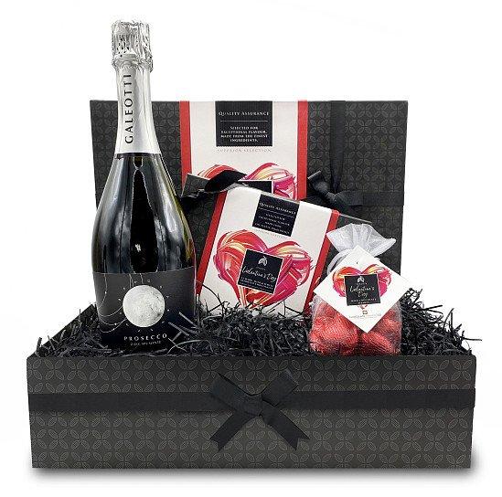 NEW - Valentine's Day Chocolate and Prosecco Hamper: £38.30!
