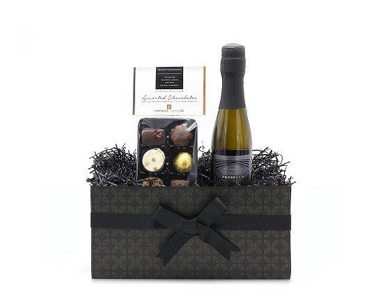 Chocolate and Prosecco Mini Gift Hamper: £15.35!