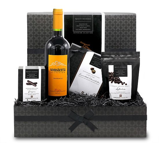 Perfect for Mother's Day - Dark Chocolate Small Gift Hamper: £42.84!