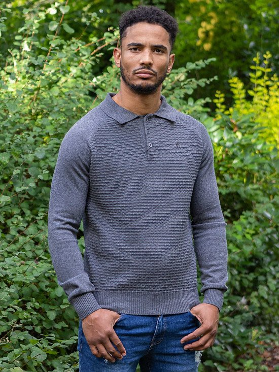Mens Clothing | Smart Casual Polo Knitwear - £34.99!