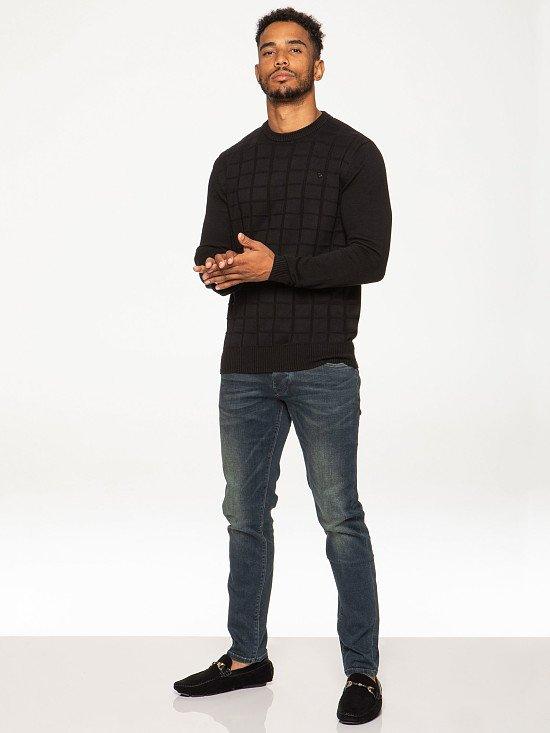 Mens Designer Stern Knit Sweatshirt - £16.99!
