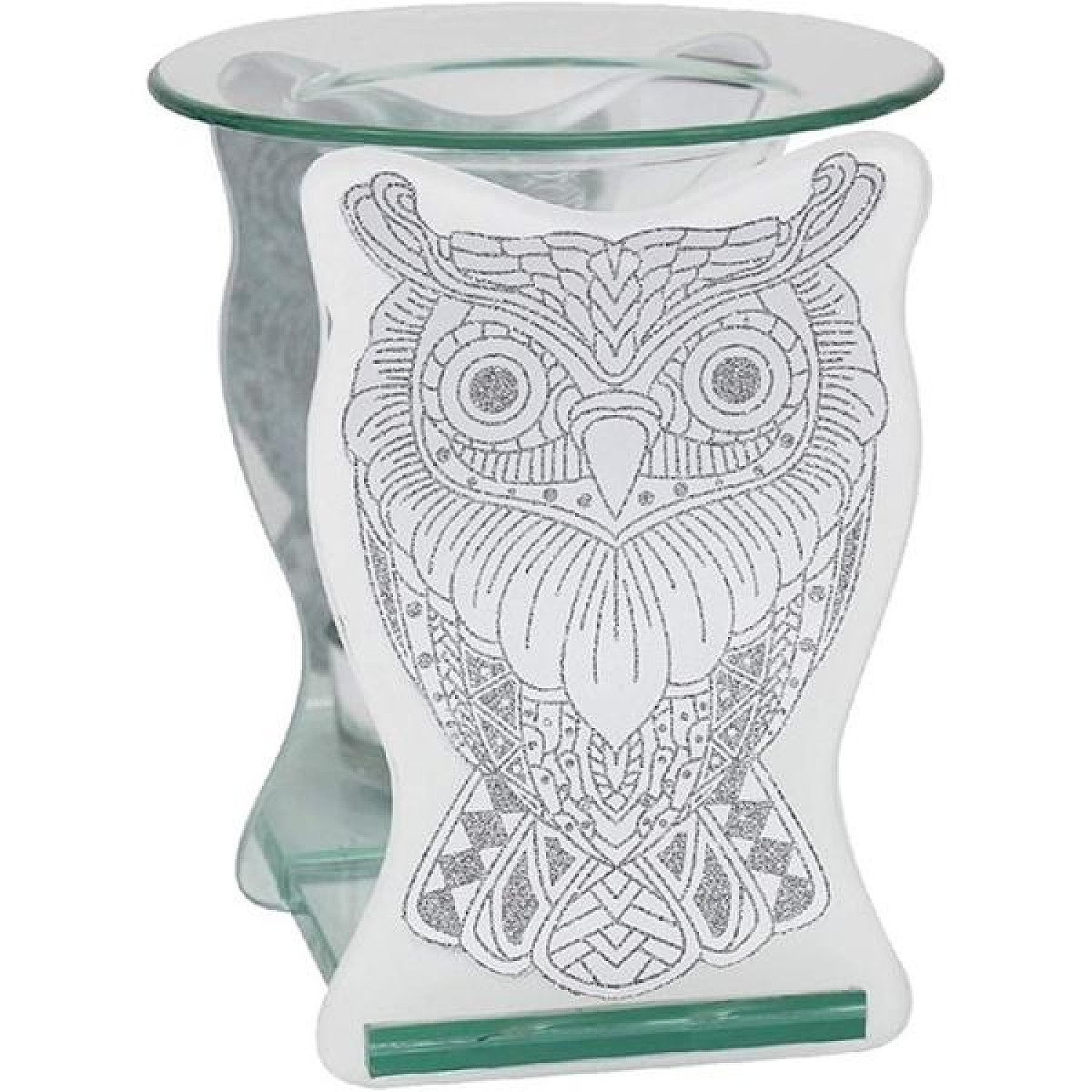 Glass Owl Wax Oil Warmer
