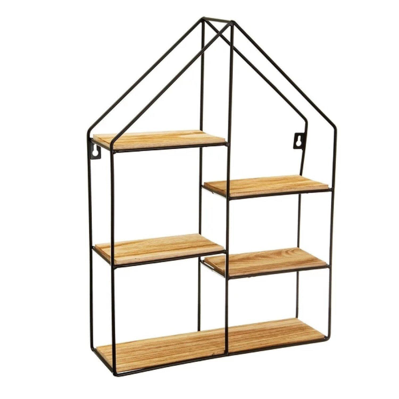 Large Black House Shelf £24.99 Free Postage