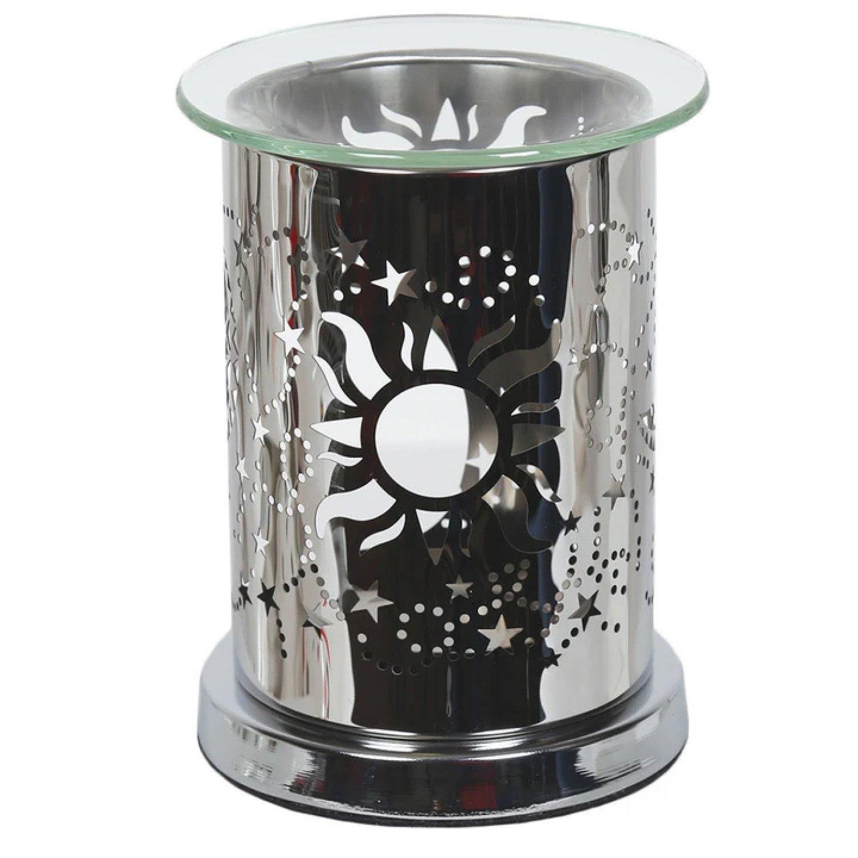 Aroma Mirror Wax Melt Burner, Sun and Moon £17.99 Free Postage