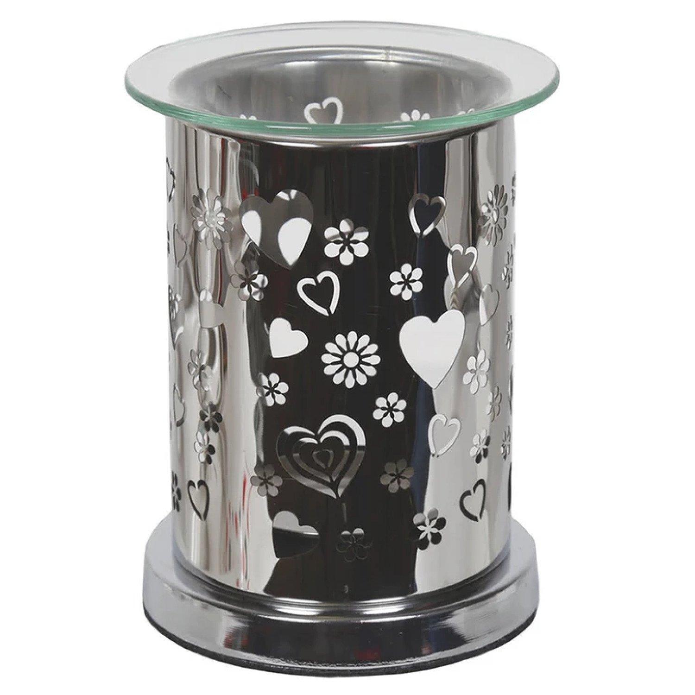 Aroma Mirror Wax Melt Burner, Hearts £17.99 Free Postage