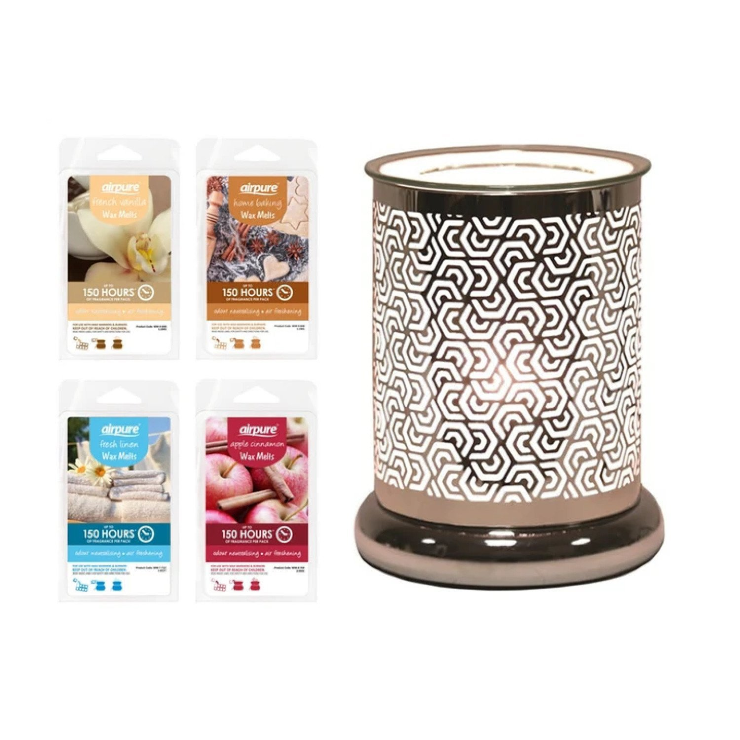 Hexagonal Cylinder - Wax Melt Burner Includes Pack of Wax Melts £29.99 Free Postage
