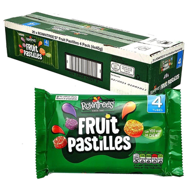 80 X ROWNTREE'S ORIGINAL FRUIT PASTILLES 45G PACKS £27.99 Free Postage