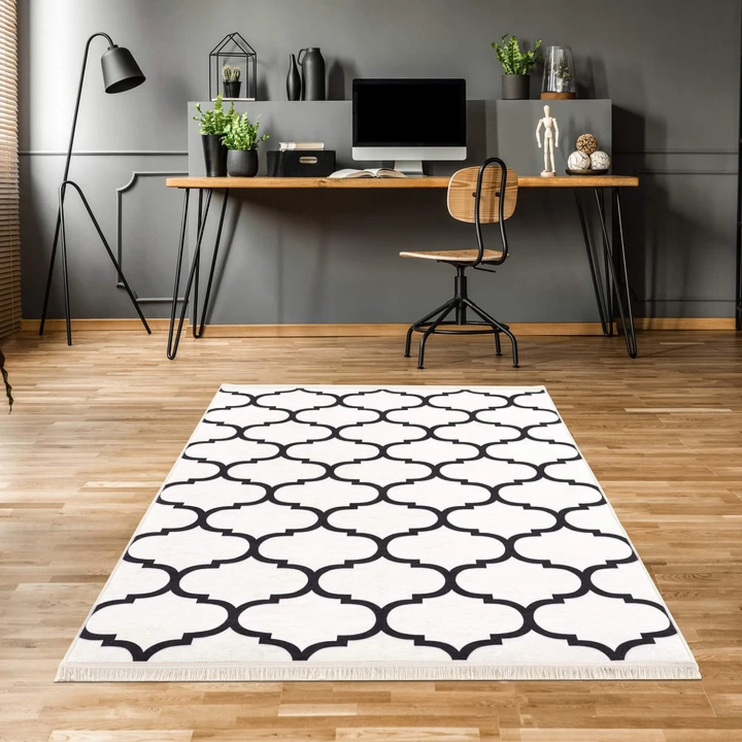Caimas Collection Washable Rugs in White Free Postage 10% off all orders over £30