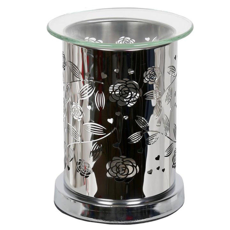 Aroma Mirror Wax Melt Burner, Floral