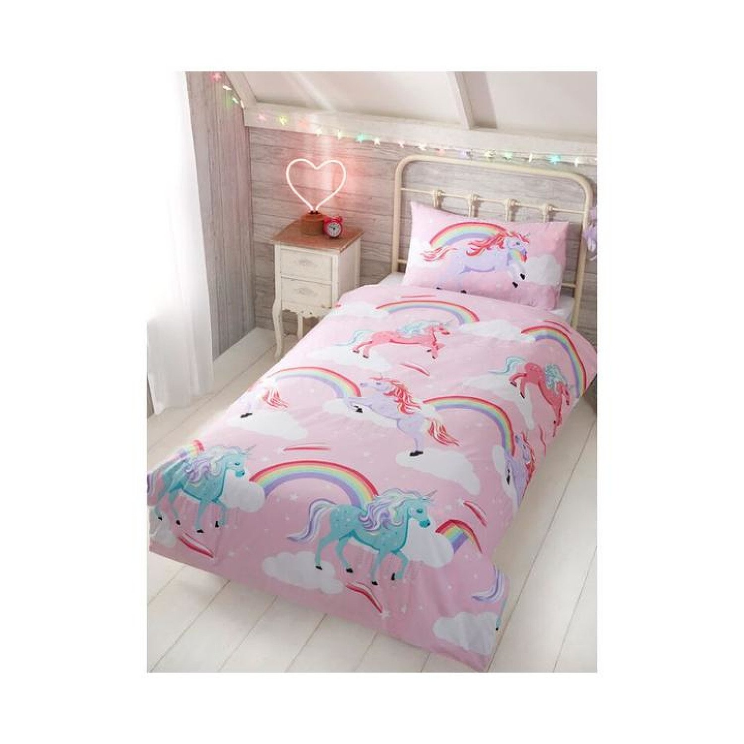 My Little Unicorn Duvet Cover and Pillowcase Set - Single