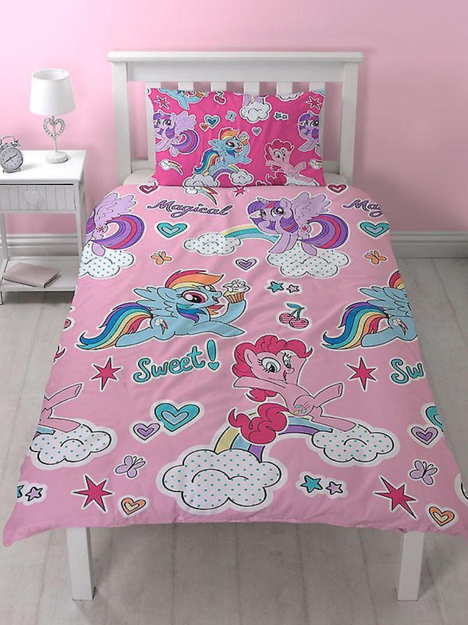 My Little Pony Cupcake Duvet Cover & Pillowcase Set - Single
