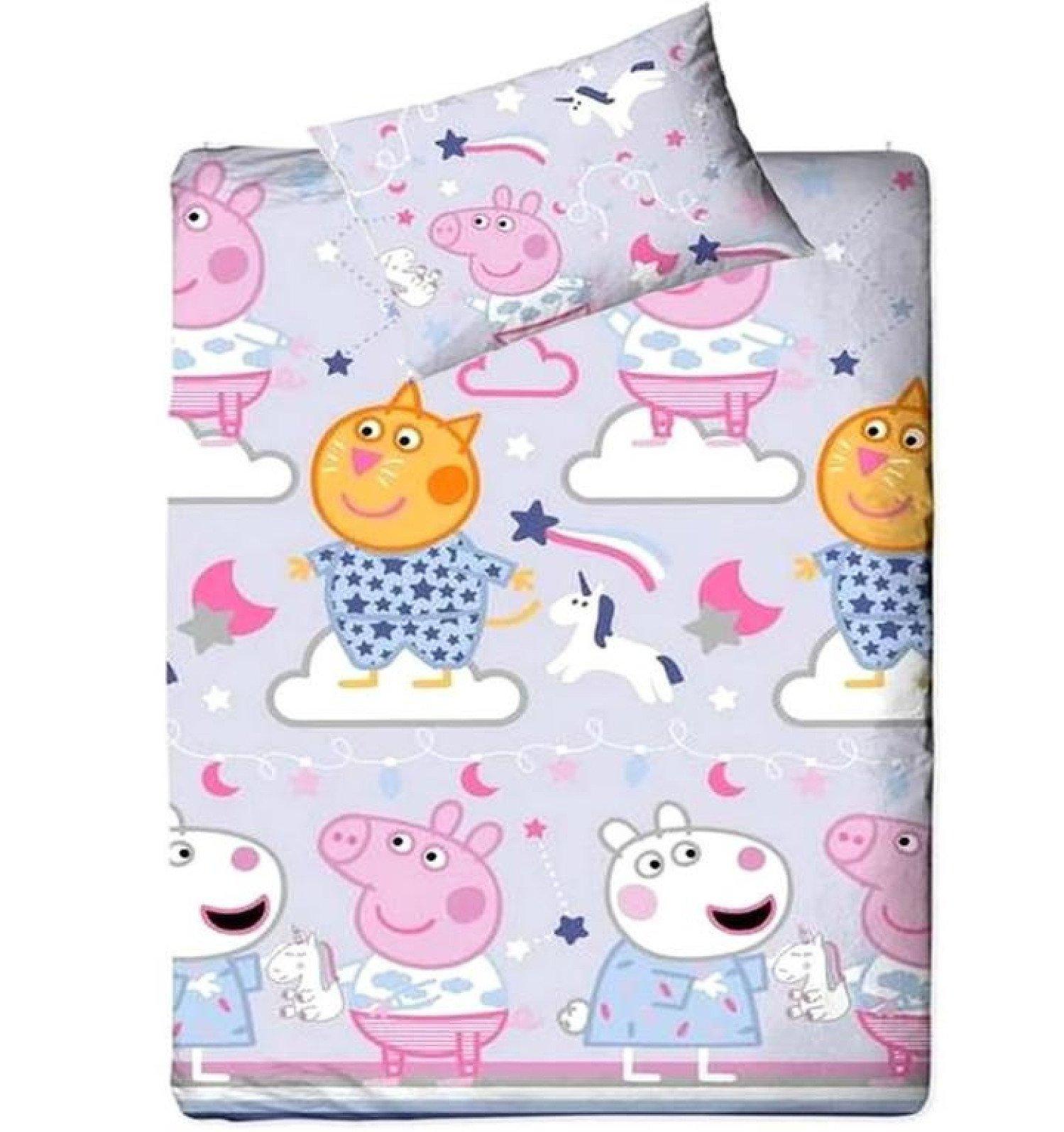 Peppa Pig Bedding. Single Duvet - Sleep