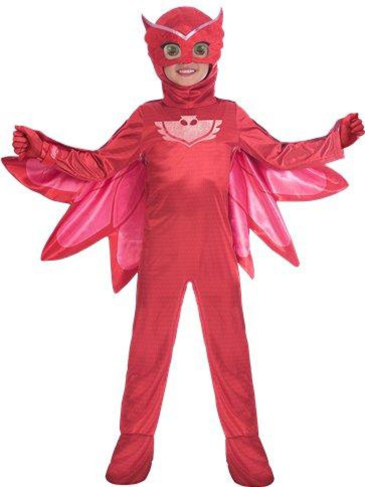 PJ Masks Owlette Deluxe - Child Costume 3.4Y