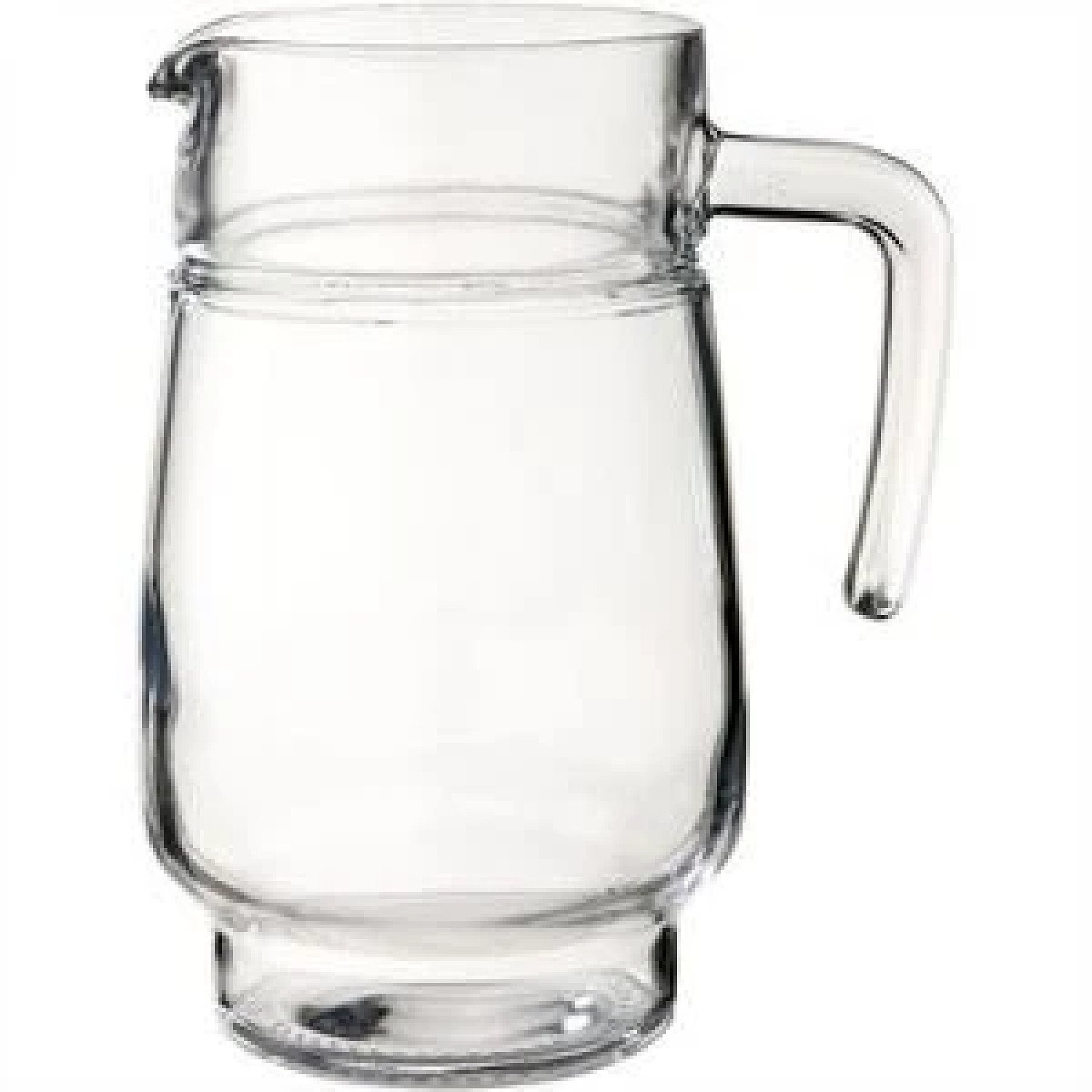 Tivoli Handled Ice Lipped Jug 1.6L Great For Home Or Restaurant Clear Glass £13.99 Free Postage