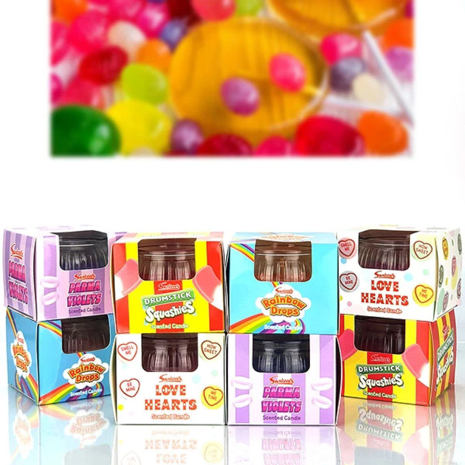 8 Swizzle Sweet Candle Bundle