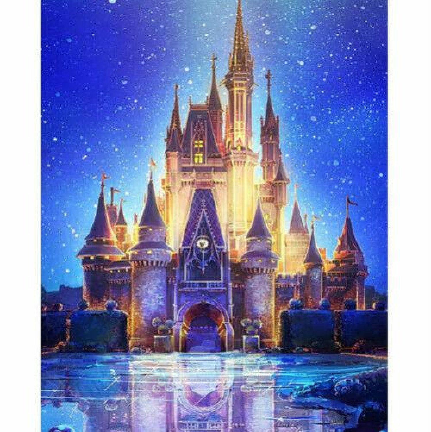 Castle 5D Diamond Painting Cross Stitch Embroidery DIY Art