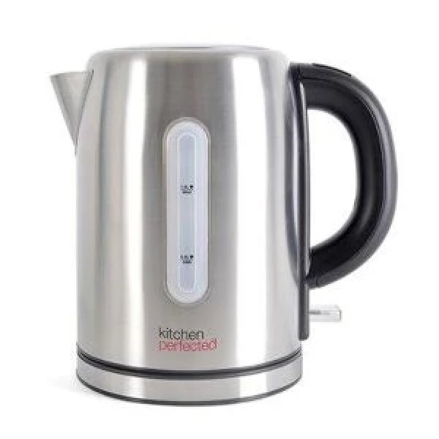Kitchen perfected 1.0lt Brushed Steel Cordless kettle Free Postage