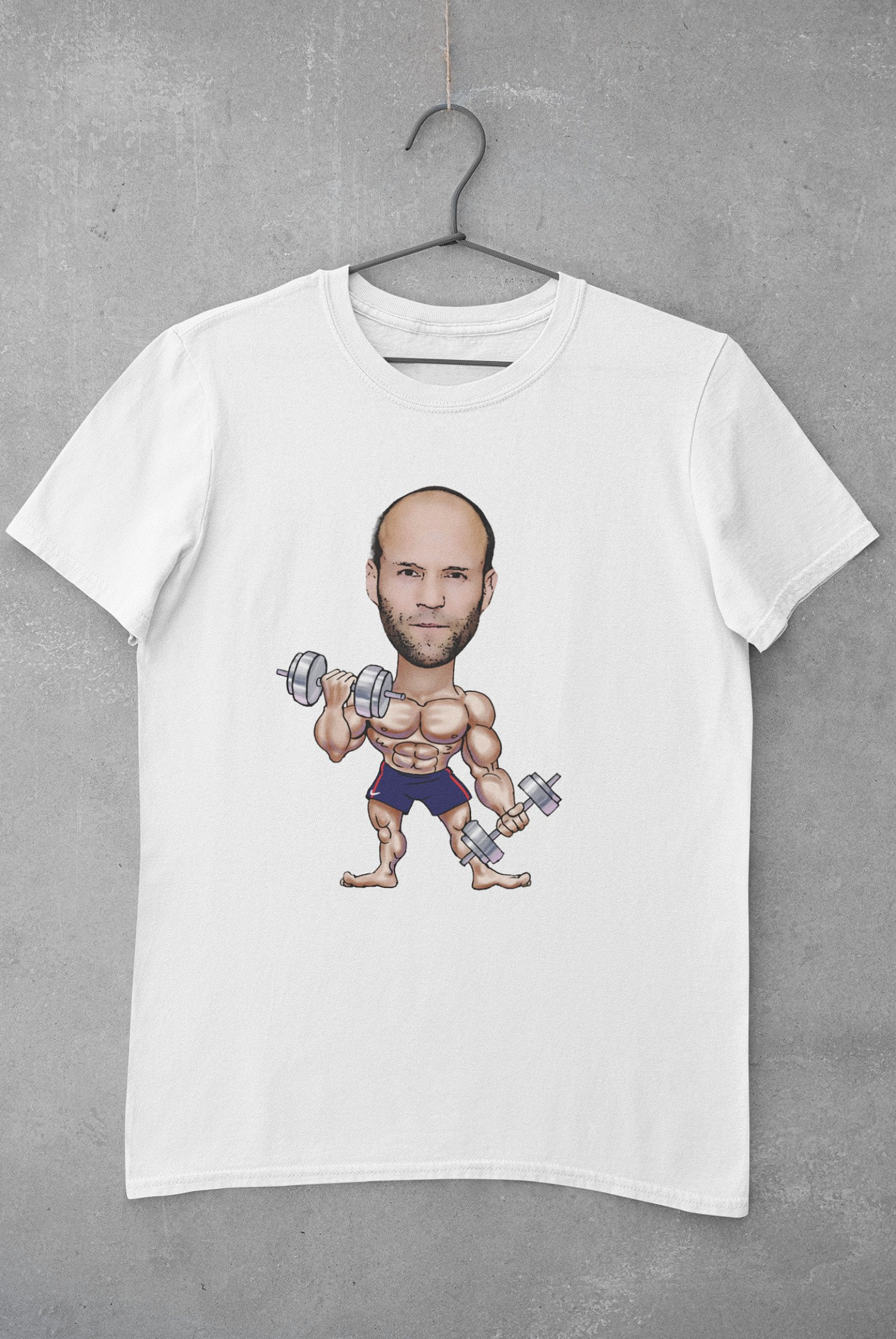 Muscle Character | Caricature Personalised T-shirt | IBrand