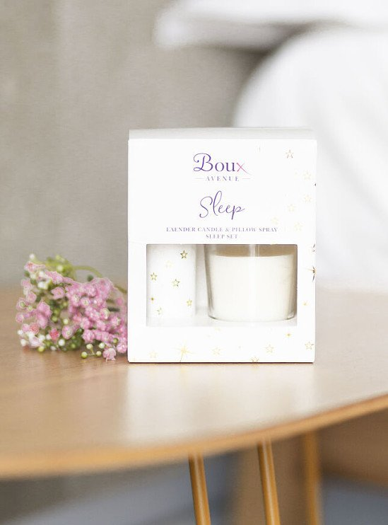 MOTHERS DAY GIFT IDEAS  - Lavender sleep set - Gold £15.00!