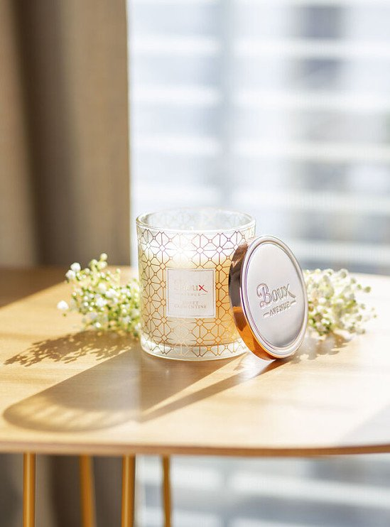MOTHERS DAY GIFT IDEAS  - Sweet clementine candle - Rose Gold £10.00!
