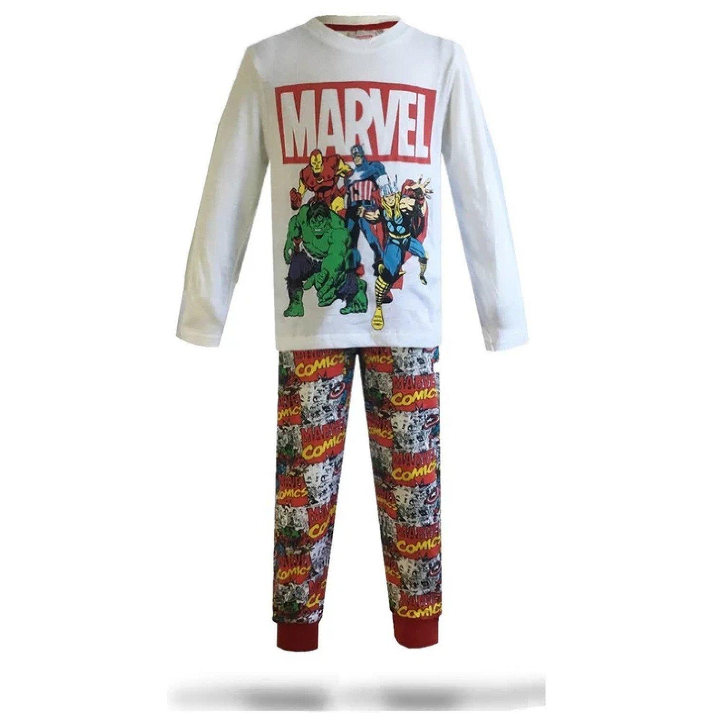 (9 Years) Avengers Pyjamas Free Postage