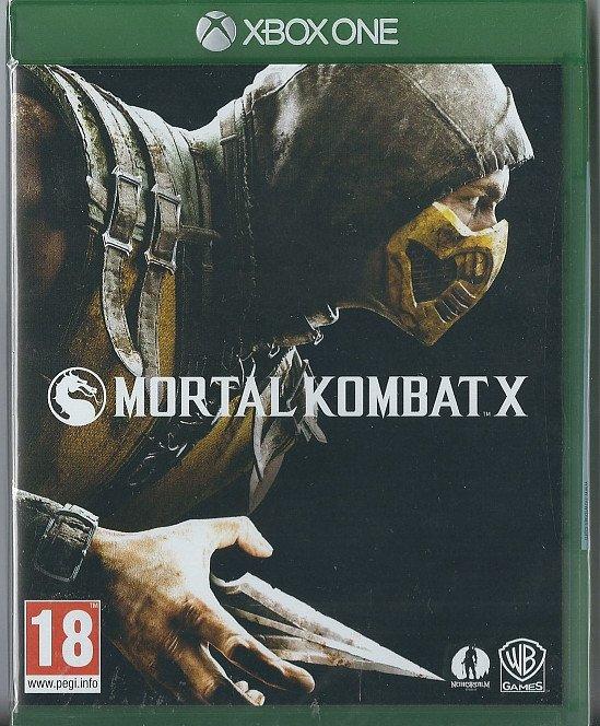 Xbox One Mortal Kombat X (BRAND NEW)