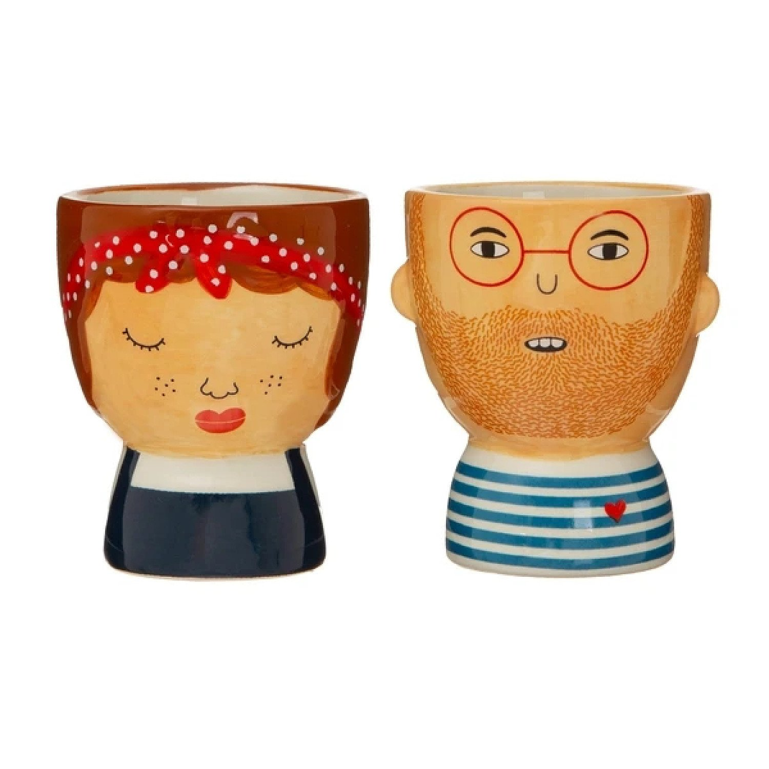 (Set of 2) Libby & Ross Egg Cups £13.99 Free Postage