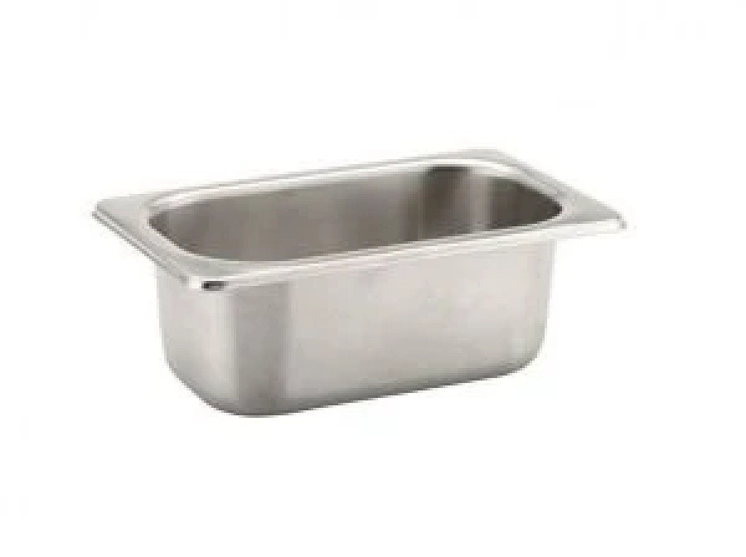 1 Litre S. Steel Gastronorm Container 1/9 100mm For Salads Vegetables Sauces £15.99 Free Postage