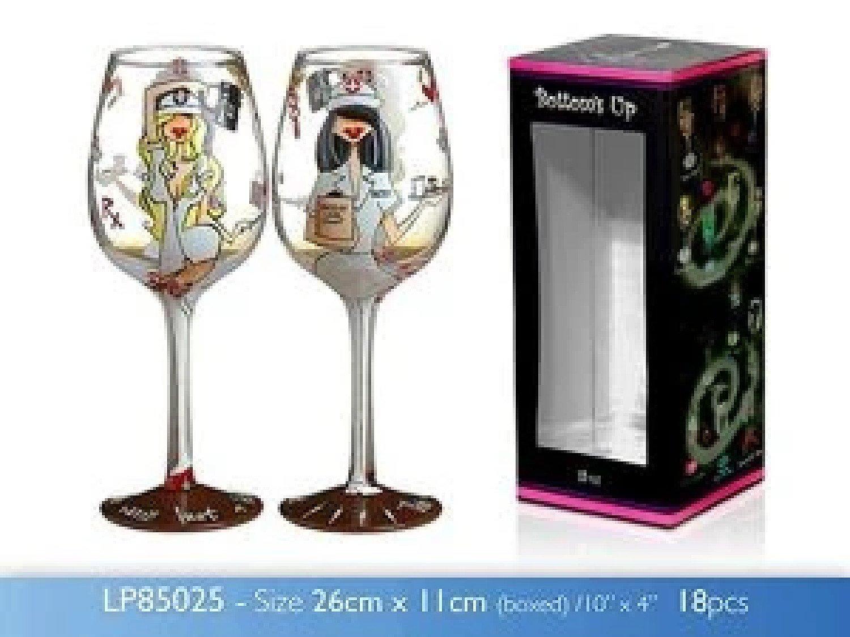 15oz TLC Wine Glass Novelty £15.99 Free Postage