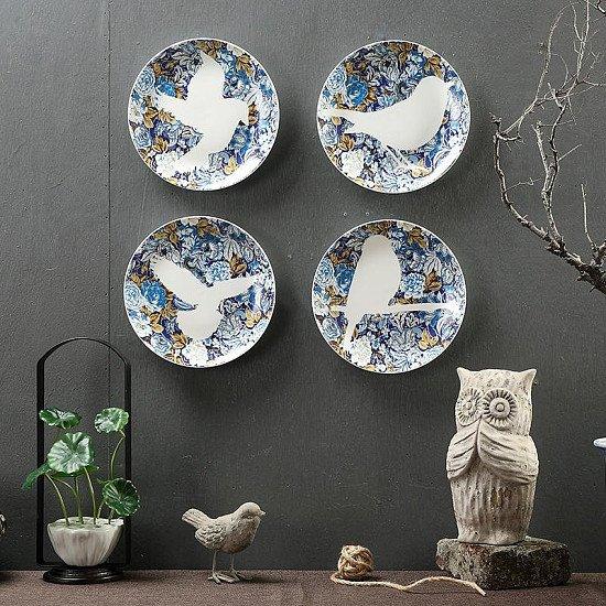 Lovely Bird Wall Decor Plate - Now 20% Off