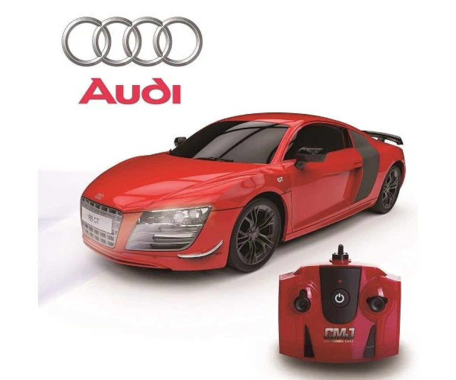 1:24 Scale RC Audi R8 GT Red Free Postage