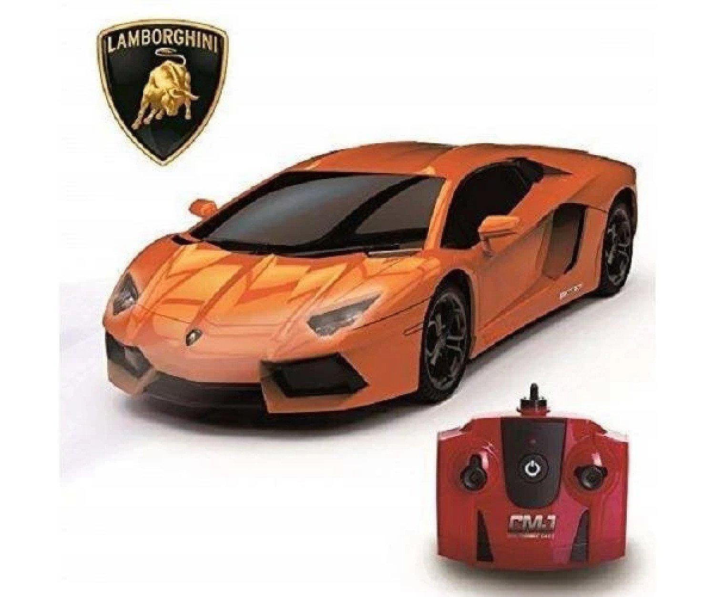 1:24 Scale RC Lamborghini Aventador Orange Free Postage
