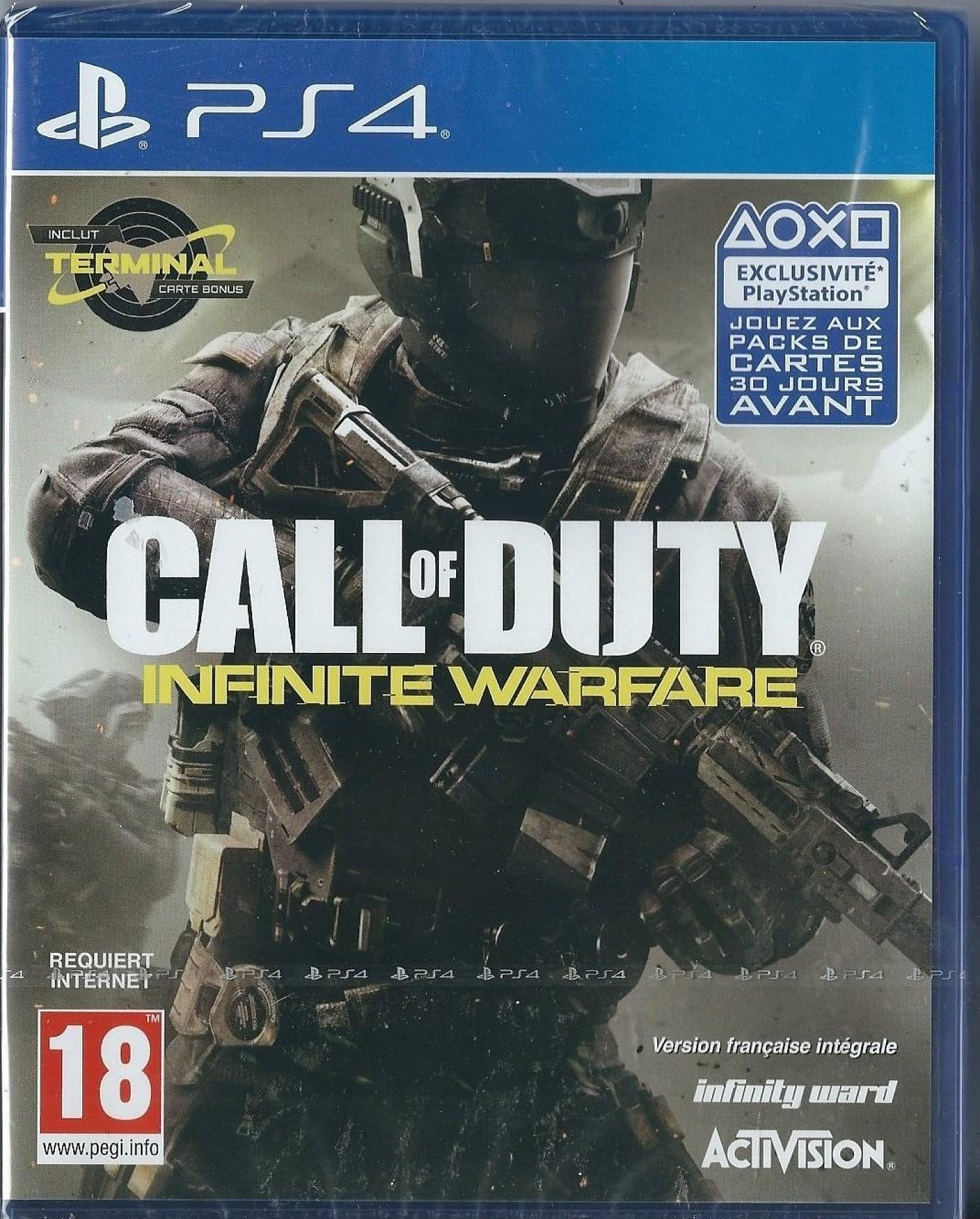 Playstation 4 Call of Duty: Infinite Warfare (PS4) BRAND NEW (IMPORT)