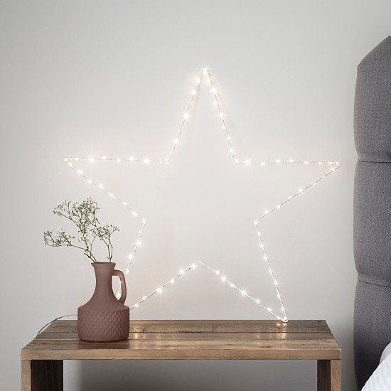 Perfect for Mother's Day - Osby Large Star Window Light: £16.99!
