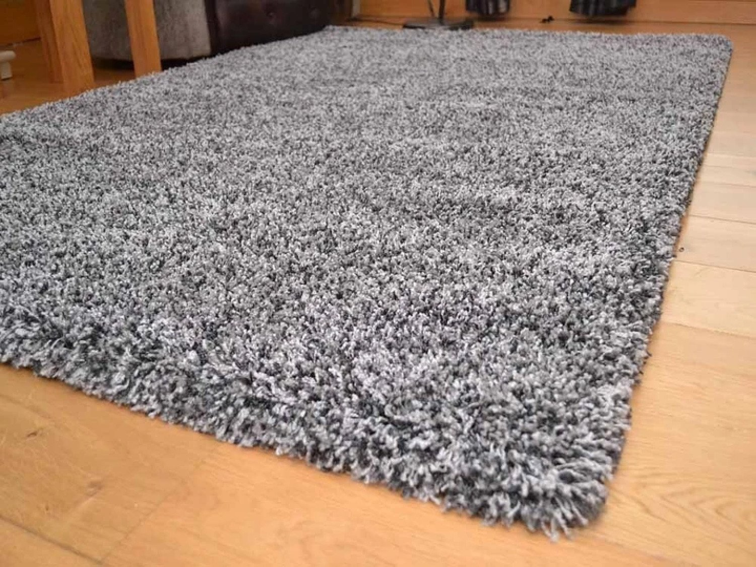 2 Tone Grey Soft Touch Shaggy Rug Free Postage