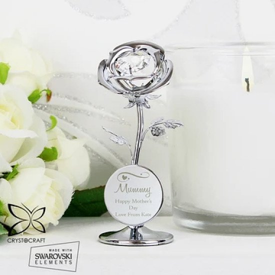 Personalised rose ornaments