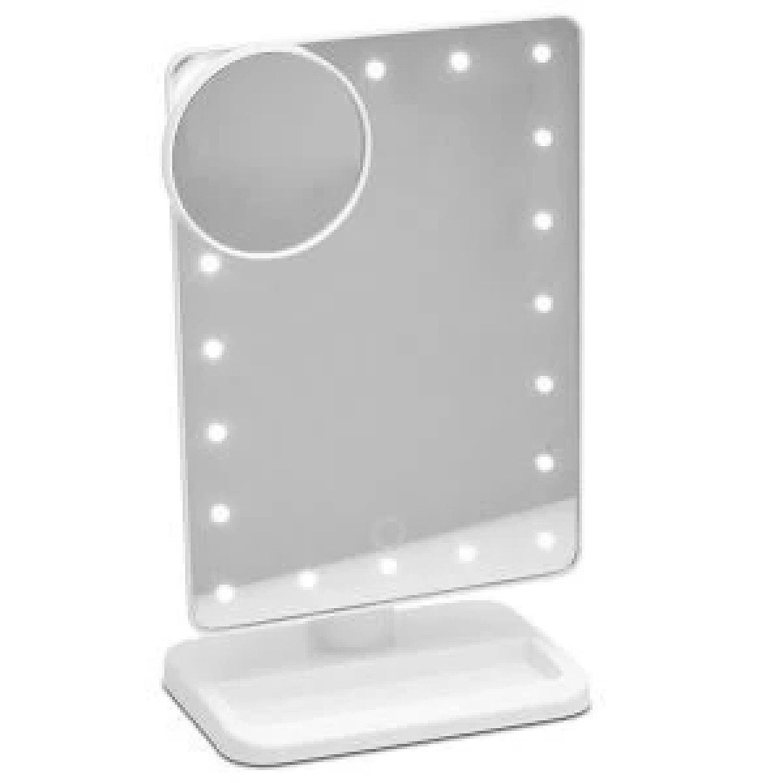 20 LED Mirror - White Free Postage