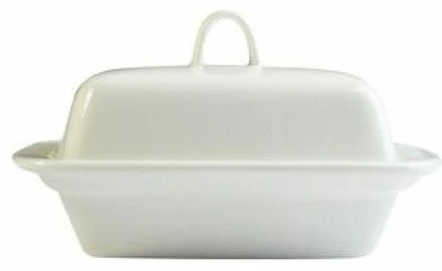 250cc Orion Butter/Margarine Dish made from Porcelain White Free Postage