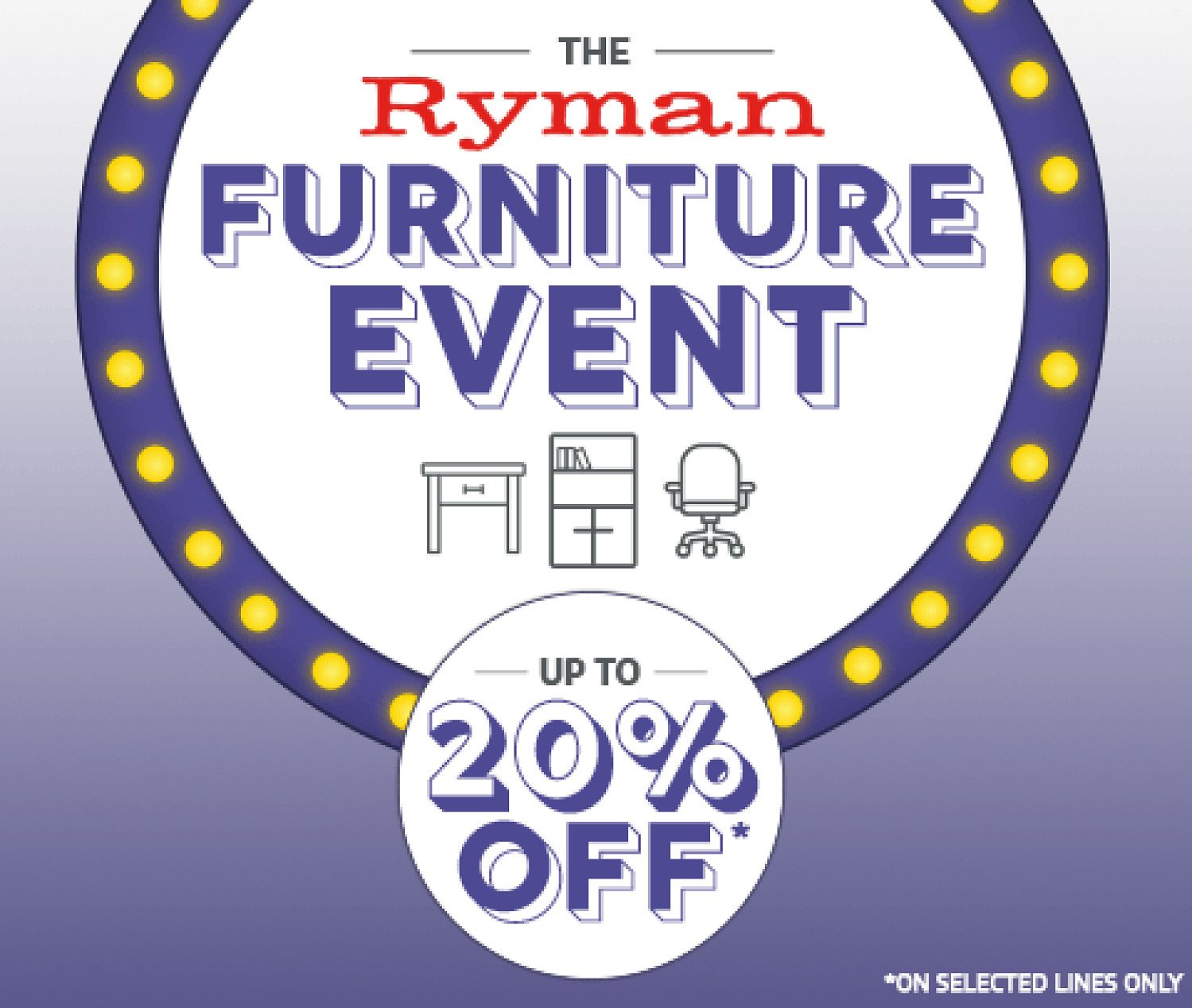 Save Up To 20% On Furniture in the Ryman Furniture Event!