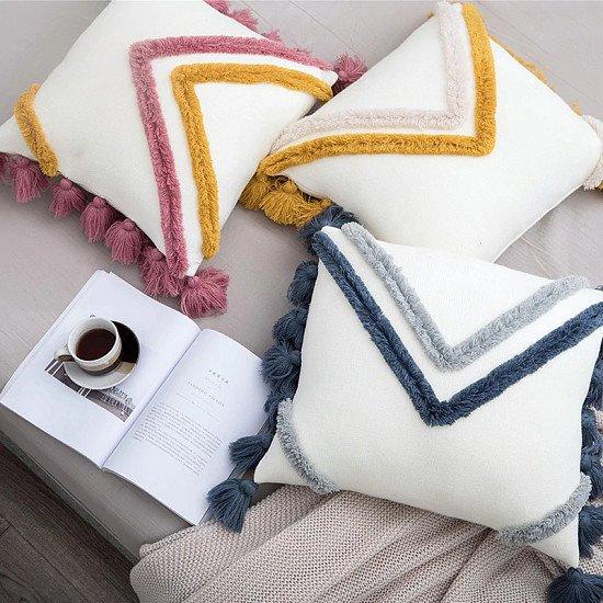 Decorative Boho Cushion Cover  45 x 45 cm - 40% off