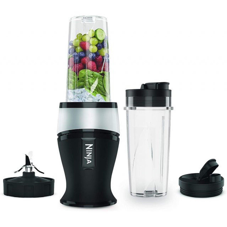 SAVE - Nutri Ninja 700W Slim Blender & Smoothie Maker - QB3001UKS - Silver