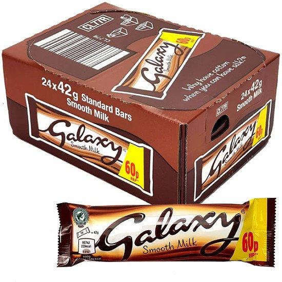 24 x galaxy chocolate bars