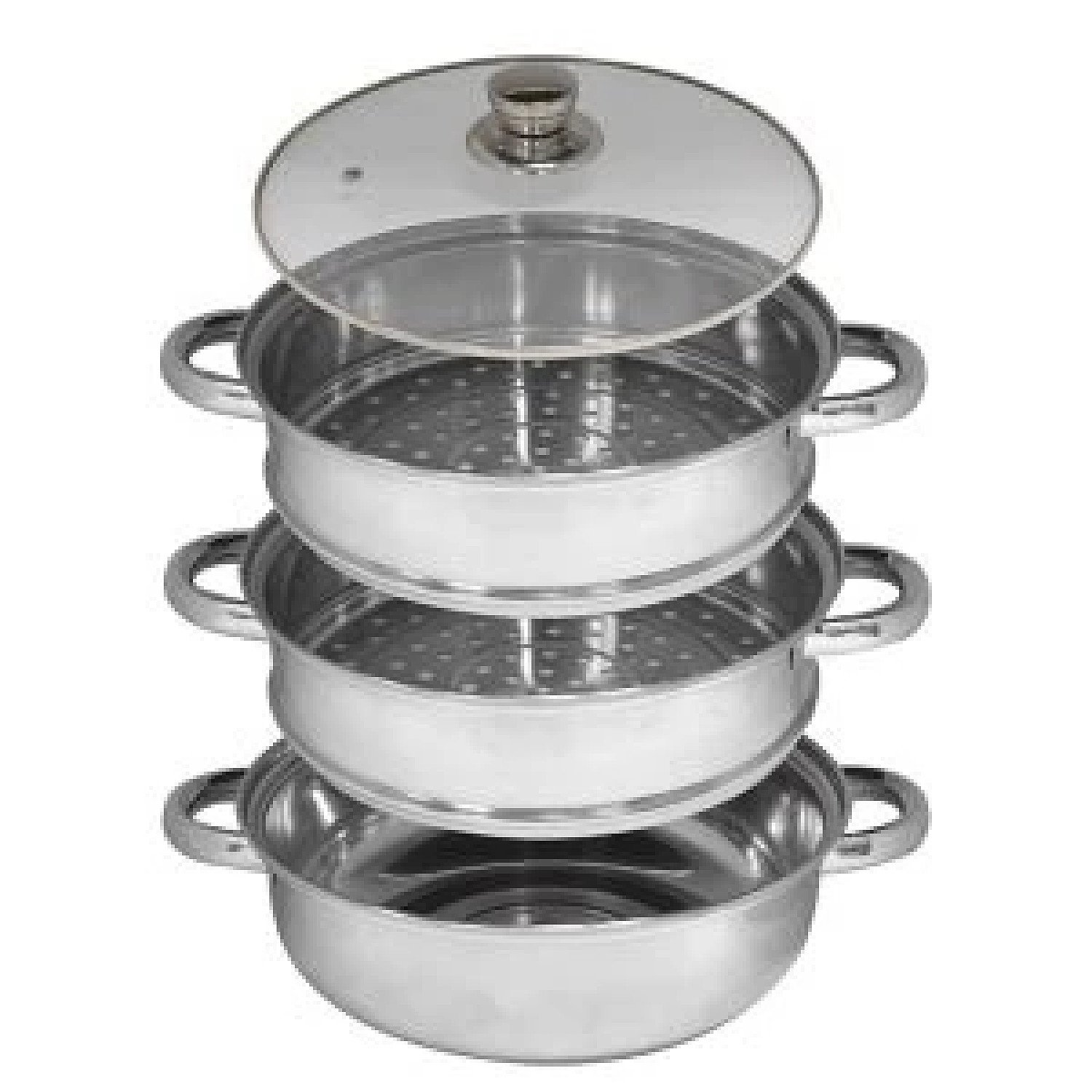 3 Tier Stainless Steel Steamer Free Postage