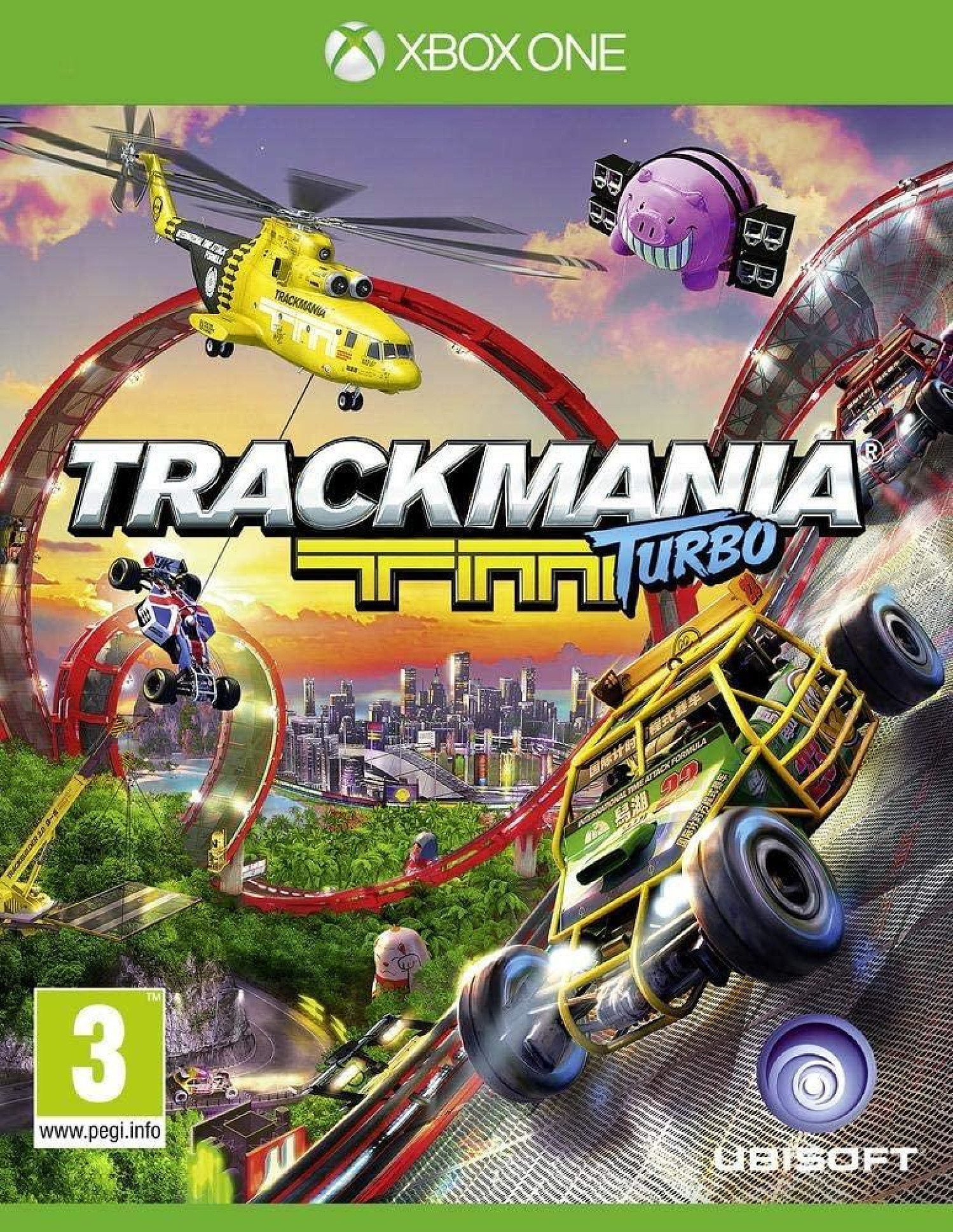 Xbox One TrackMania Turbo (IMPORT) BRAND NEW