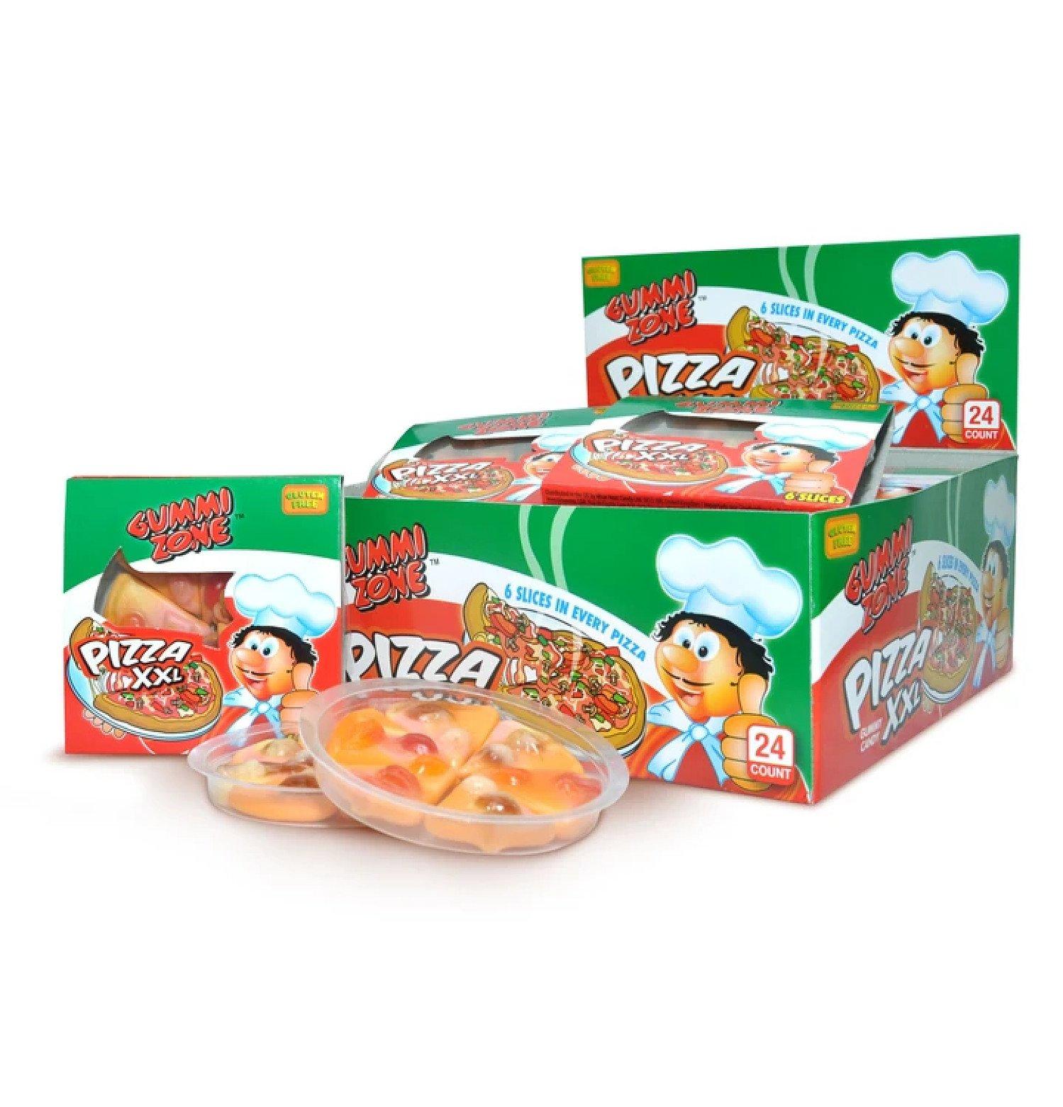 GUMMY PIZZAS (GUMMI ZONE) 24 COUNT Free Postage