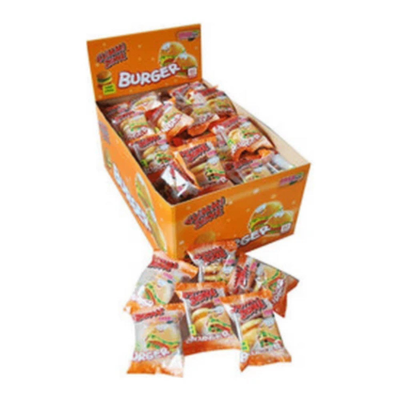 GUMMY BURGERS (GUMMI ZONE) 60 COUNT SWEETS Free Postage