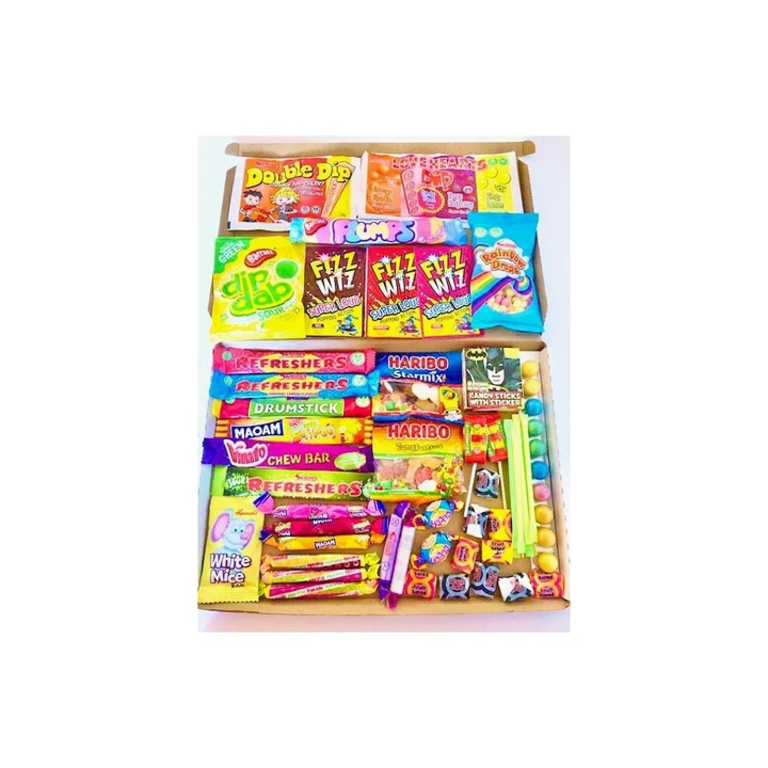 Super Sweets Large Jam Packed Letterbox Selection Sweet Box Free Postage