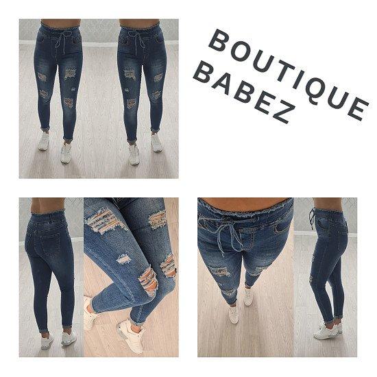 NEW Lana Tie Waist Ripped Jeans £21.99